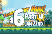 Angry Birds Friends 2016 Tournament Mania 4 Level 6 Week 192 Walkthrough