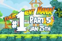 Angry Birds Friends 2016 Tournament Mania 5 Level 1 Week 193 Walkthrough