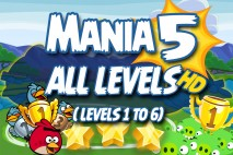 Angry Birds Friends 2016 Tournament Mania 5 Week 193 Non Power-Up Compilation Walkthrough