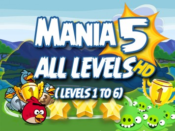 Angry Birds Friends Mania 5 Week 193 Level 1 to 6 NP