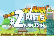 Angry Birds Friends 2016 Tournament Mania 5 Level 2 Week 193 Walkthrough
