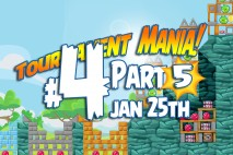 Angry Birds Friends 2016 Tournament Mania 5 Level 4 Week 193 Walkthrough