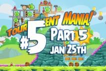 Angry Birds Friends 2016 Tournament Mania 5 Level 5 Week 193 Walkthrough