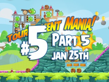Angry Birds Friends Mania 5 Week 193 Level 5