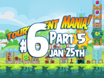 Angry Birds Friends Mania 5 Week 193 Level 6