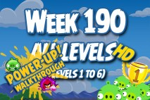 Angry Birds Friends 2016 Tournament Week 190 Power-Up Compilation Walkthrough