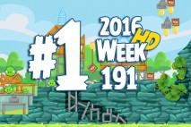 Angry Birds Friends 2016 Tournament Level 1 Week 191 Walkthrough