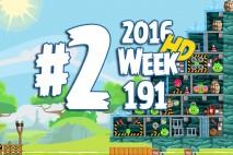 Angry Birds Friends 2016 Tournament Level 2 Week 191 Walkthrough