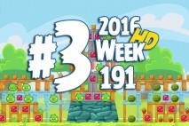 Angry Birds Friends 2016 Tournament Level 3 Week 191 Walkthrough