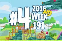 Angry Birds Friends 2016 Tournament Level 4 Week 191 Walkthrough