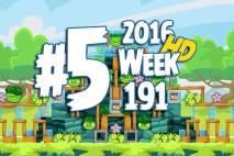 Angry Birds Friends 2016 Tournament Level 5 Week 191 Walkthrough