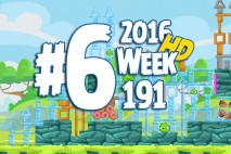 Angry Birds Friends 2016 Tournament Level 6 Week 191 Walkthrough