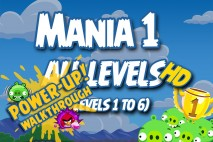 Angry Birds Friends 2016 Tournament Mania 1 Week 192 Power-Up Compilation Walkthrough