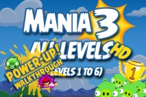 Angry Birds Friends 2016 Tournament Mania 3 Week 192 Power-Up Compilation Walkthrough
