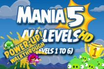 Angry Birds Friends 2016 Tournament Mania 5 Week 193 Power-Up Compilation Walkthrough