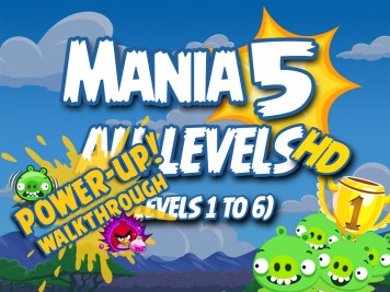 Angry Birds Friends Tournament Mania 5 Week 193 Levels 1 to 6 PU