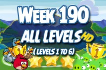 Angry Birds Friends 2016 Tournament Week 190 Non Power-Up Compilation Walkthrough