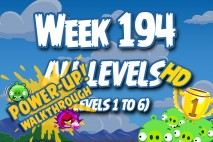 Angry Birds Friends 2016 Tournament Carnival Days Week 194 Power-Up Compilation Walkthrough