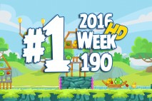 Angry Birds Friends 2016 Tournament Level 1 Week 190 Walkthrough