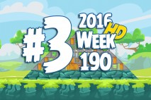 Angry Birds Friends 2016 Tournament Level 3 Week 190 Walkthrough