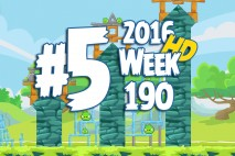 Angry Birds Friends 2016 Tournament Level 5 Week 190 Walkthrough