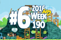Angry Birds Friends 2016 Tournament Level 6 Week 190 Walkthrough