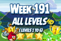 Angry Birds Friends 2016 Tournament Week 191 Non Power-Up Compilation Walkthrough