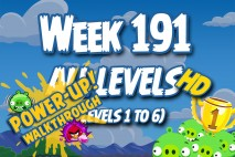 Angry Birds Friends 2016 Tournament Week 191 Power-Up Compilation Walkthrough