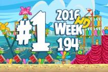Angry Birds Friends 2016 Carnival Days Tournament Level 1 Week 194 Walkthrough