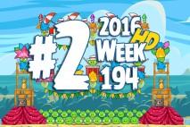 Angry Birds Friends 2016 Carnival Days Tournament Level 2 Week 194 Walkthrough