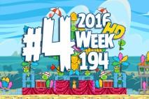 Angry Birds Friends 2016 Carnival Days Tournament Level 4 Week 194 Walkthrough