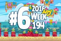 Angry Birds Friends 2016 Carnival Days Tournament Level 6 Week 194 Walkthrough