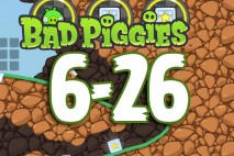 Bad Piggies The Road To El Porkado Level 6-26 Walkthrough