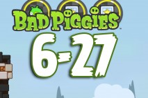 Bad Piggies The Road To El Porkado Level 6-27 Walkthrough