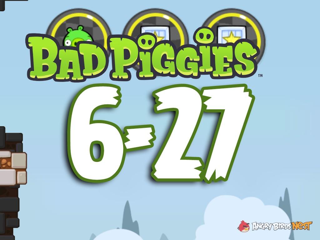 Bad Piggies The Road To El Porkado Level 6-27 Walkthrough | AngryBirdsNest