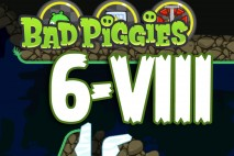 Bad Piggies The Road To El Porkado Level 6-VIII Walkthrough