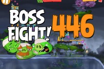 Angry Birds 2 Boss Fight Level 446  Walkthrough – Cobalt Plateaus Pig Bay