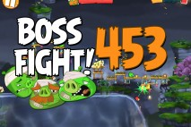 Angry Birds 2 Boss Fight Level 453  Walkthrough – Cobalt Plateaus Pig Bay