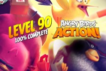 Let's Play Angry Birds Action | Level 90