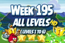 Angry Birds Friends 2016 Tournament Carnival Days Week 195 Non Power-Up Compilation Walkthrough