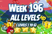 Angry Birds Friends 2016 Valentine's Tournament Week 196 Non Power-Up Compilation Walkthrough
