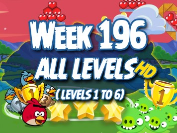 Angry Birds Friends Tournament Week 195 Levels 1 to 6 Non PU Compilation Thumb