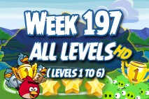 Angry Birds Friends 2016 Tournament Week 197 Non Power-Up Compilation Walkthrough