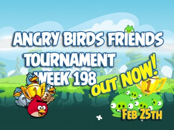 Angry Birds Friends Tournament Week 198 Feature Image
