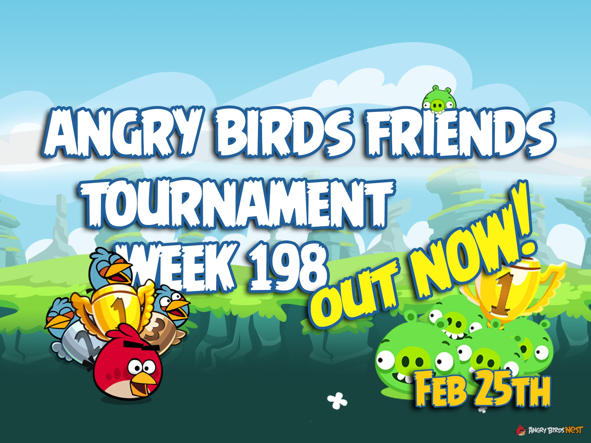New Angry Birds Friends 2016 Tournament Week 198 On Now