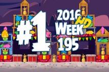 Angry Birds Friends 2016 Tournament Level 1 Week 195 Walkthrough
