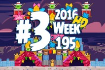 Angry Birds Friends 2016 Tournament Level 3 Week 195 Walkthrough