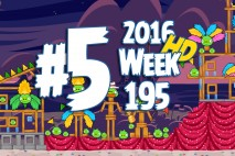 Angry Birds Friends 2016 Tournament Level 5 Week 195 Walkthrough