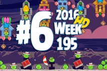 Angry Birds Friends 2016 Tournament Level 6 Week 195 Walkthrough