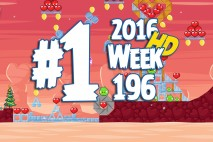 Angry Birds Friends 2016 Valentine's Tournament Level 1 Week 196 Walkthrough